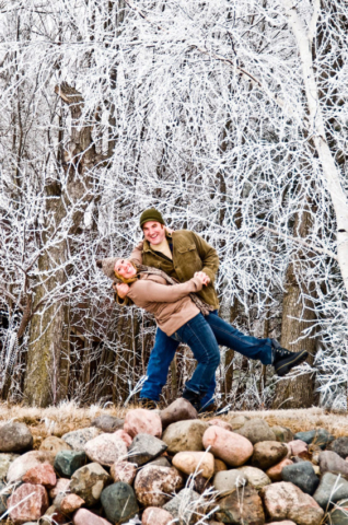 Minneapolis Engagement Portraits Photographer - BD Portraits Studio