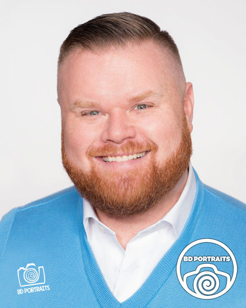 Nick Kunz - Business Headshot - Minneapolis Photographer