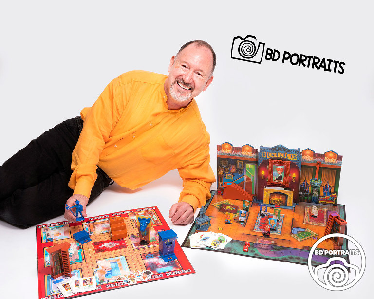 Andrew Berton - Toy Maker - BD Portraits Studio - Minneapolis Photographer